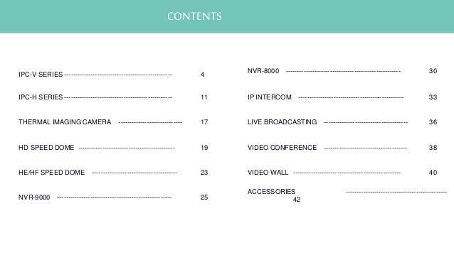 Linovision Product Catalog 2016 Q2