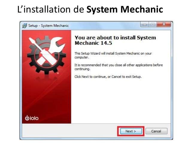 L'installation de System Mechanic