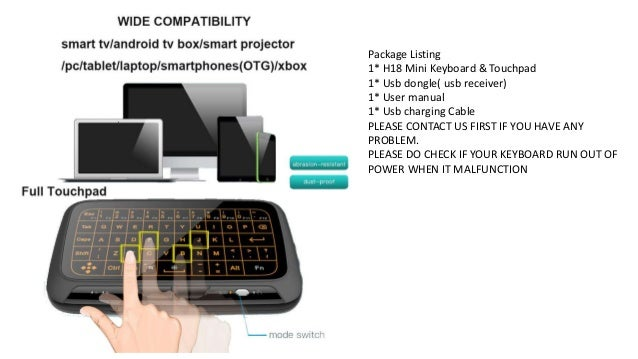 Linstar h18+ mini keyboard