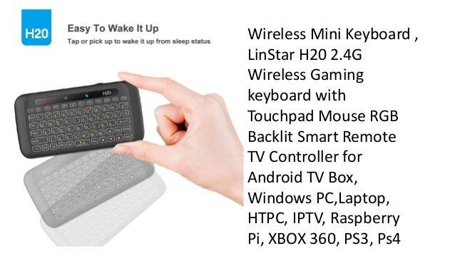 Linstar h20 mini keyboard