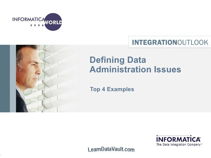 Defining Data Administration Issues Top 4 Examples