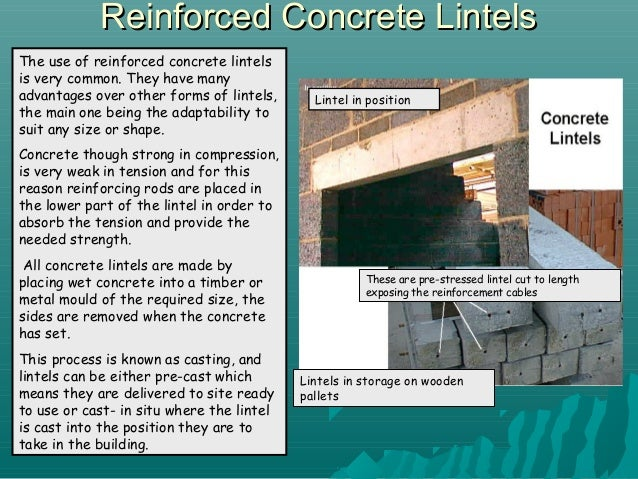 Steel Cavity LintelsSteel Cavity Lintels; 6.  sc 1 st  SlideShare & Lintels and Beams