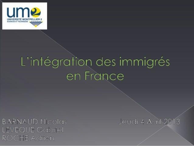    I : Acteurs et processus de l'intégration    › Origines des acteurs    › Directives d'Etat    › Moyens mis en place  ...