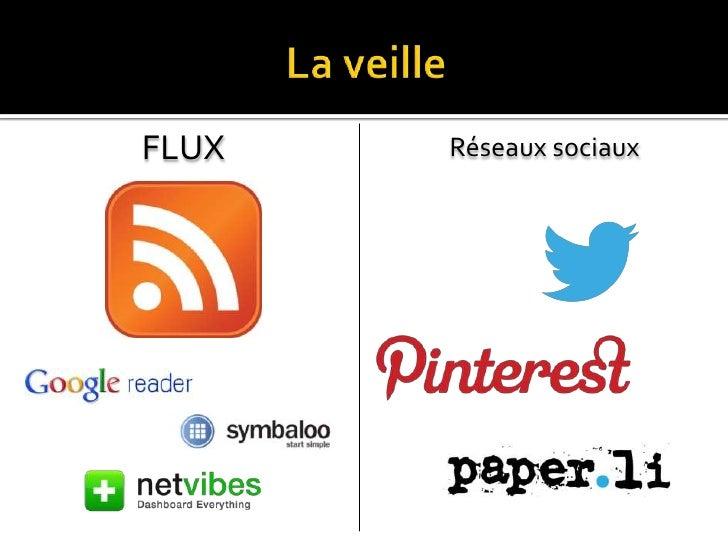 FLUX   Réseaux sociaux