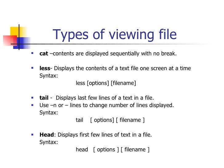 Unix/Linux Basic Commands and Shell Script