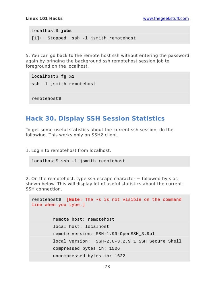 bash 101 hacks ebook pdf free 34