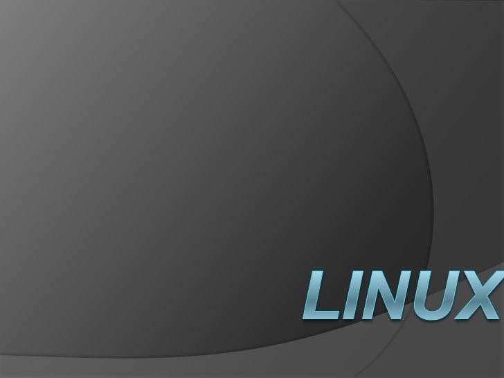    Linux, es un sistema operativo. Es una    implementación de libre distribución    UNIX para computadoras personales   ...