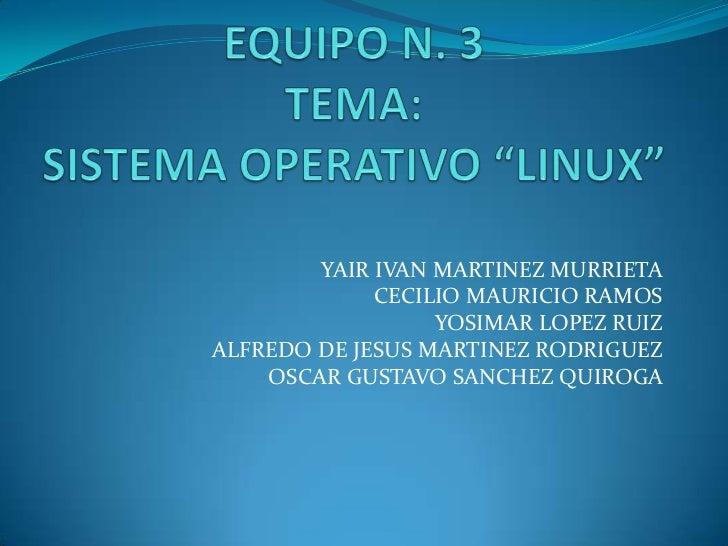 YAIR IVAN MARTINEZ MURRIETA             CECILIO MAURICIO RAMOS                  YOSIMAR LOPEZ RUIZALFREDO DE JESUS MARTINE...