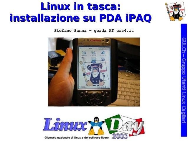 Linux in tasca