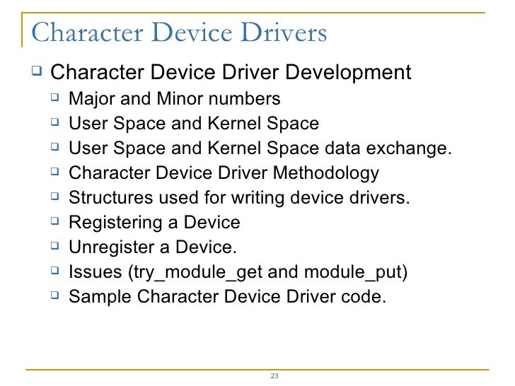 Driver Development Part 1: Introduction to Drivers