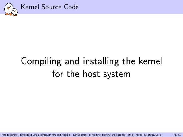 How To Install Kernel Source Code Android