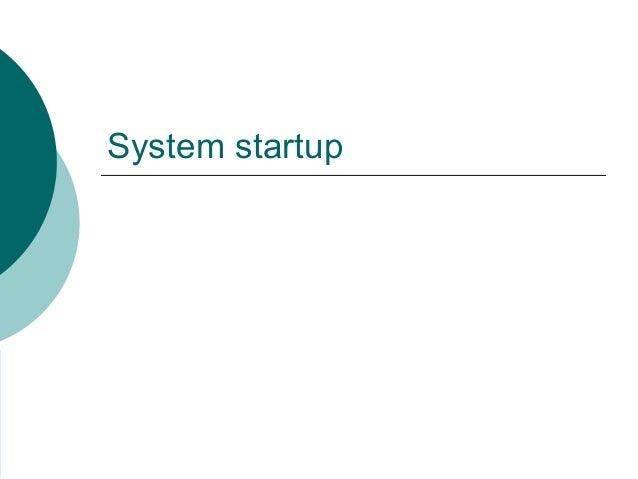 Linux booting procedure Slide 3