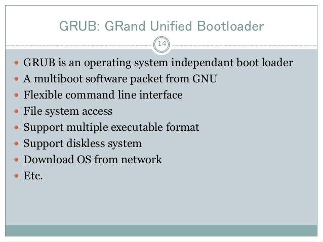 Linux booting process - Linux System Administration