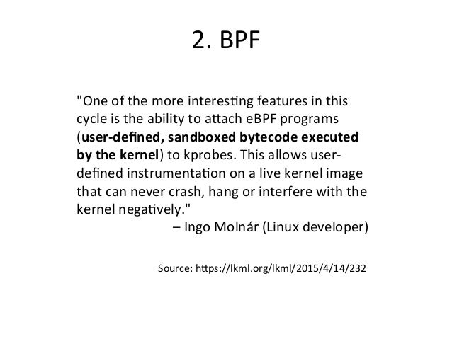 Linux BPF Superpowers