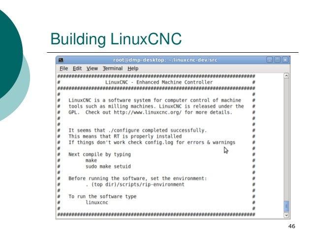 LinuxCNC 入門簡介