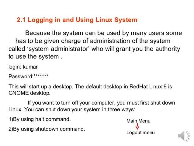 Linux command ppt