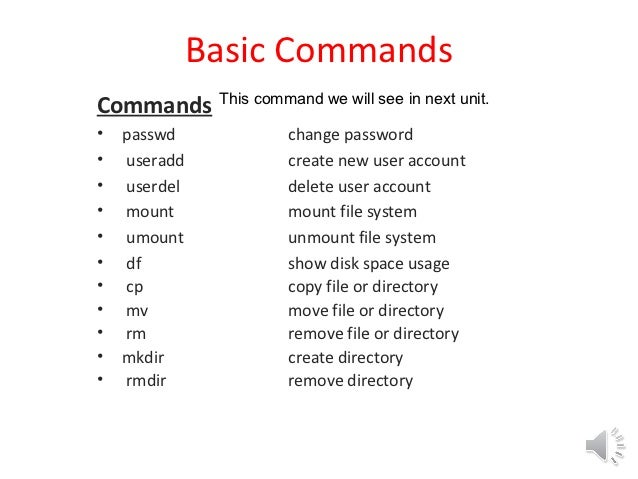 basic unix commands pdf with examples free download