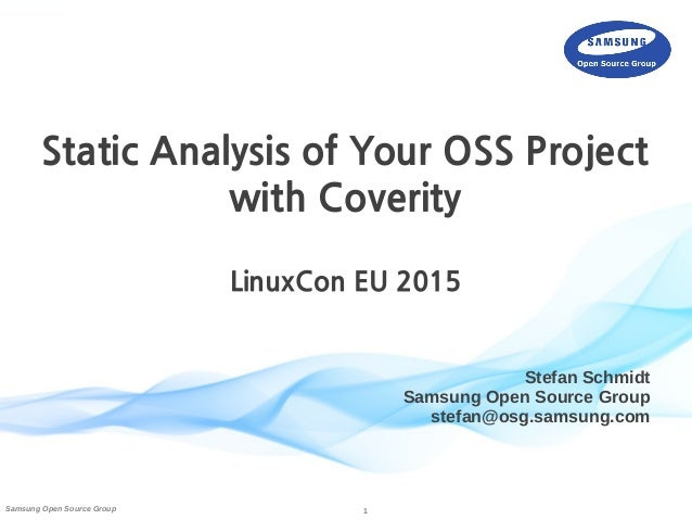 coverity static analysis user guide