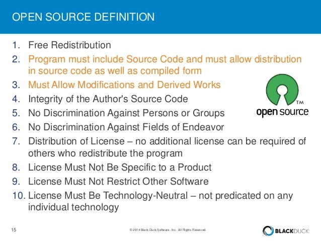 Linuxcon europe 2014 license compliance and open source Open source programs