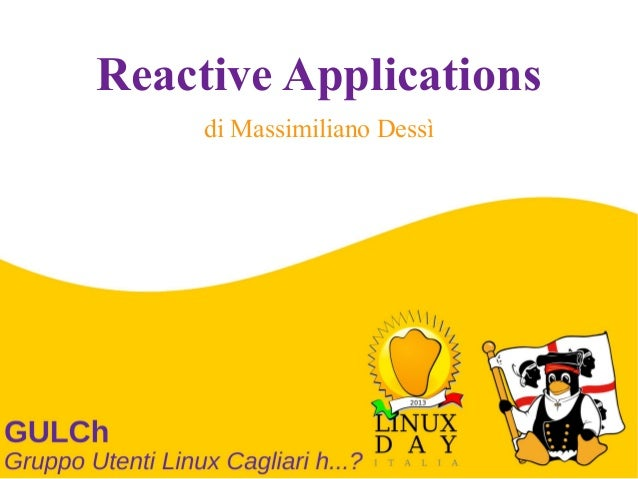 Reactive Applications di Massimiliano Dessì