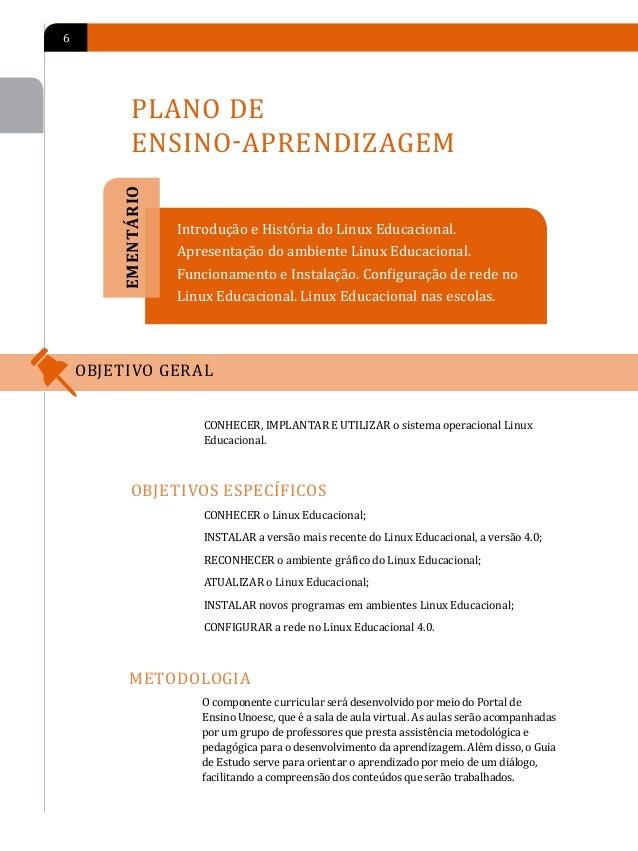 PLANO DE ENSINO-APRENDIZAGEM                  7        FORMAS E MOMENTO DE AVALIAÇão        Para fim de avaliação de apren...