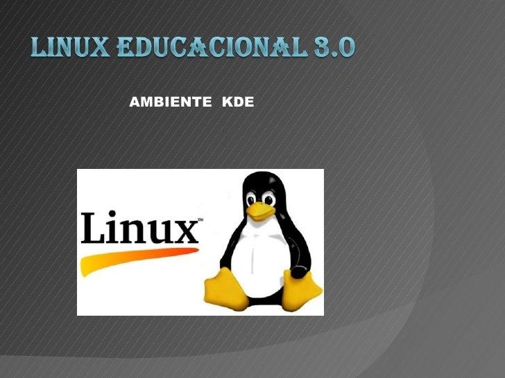 AMBIENTE KDE