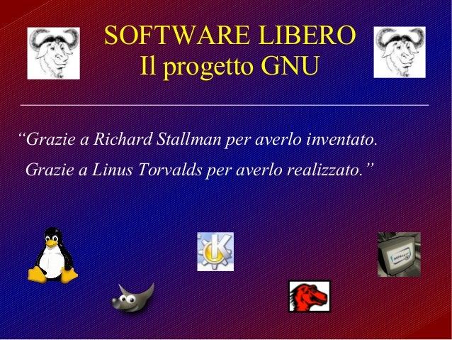 Linux e Free Software - Storia e caratteristiche vincenti Slide 2