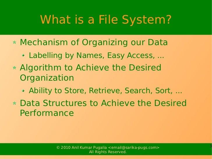 Linux File System Slide 3