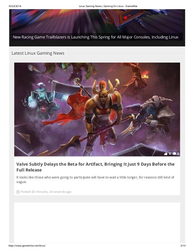 Linux gaming news gaming on linux game-mite
