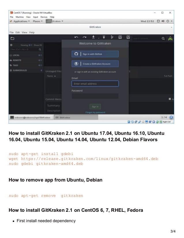 GitKraken 21 unleased with remote avatars -Install on linux