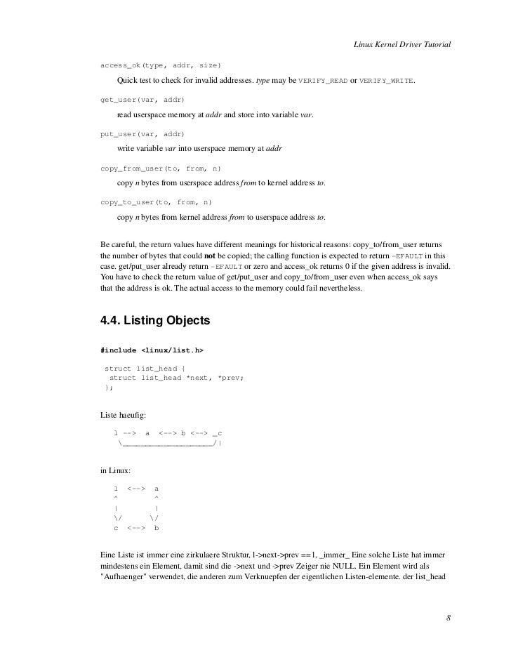 Linux Sdio driver tutorial