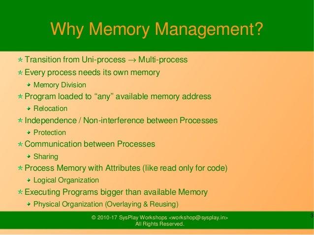 Linux Memory Management Slide 3