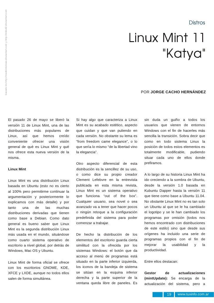 Linux Mint 11: Katya