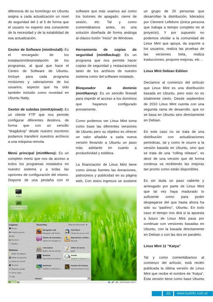 Linux Mint 11: Katya Slide 2