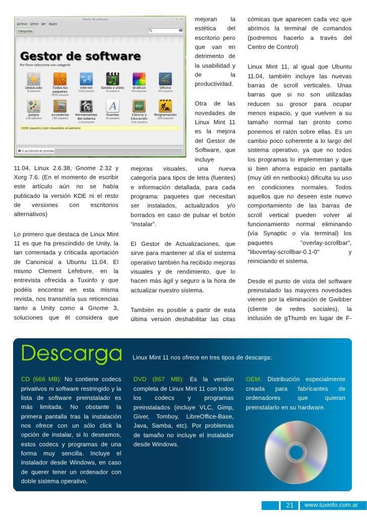 Linux Mint 11: Katya Slide 3