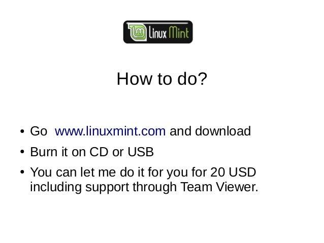Linux mint presentation prakash giri