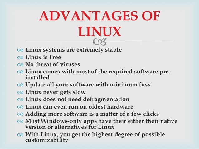Ppt on linux