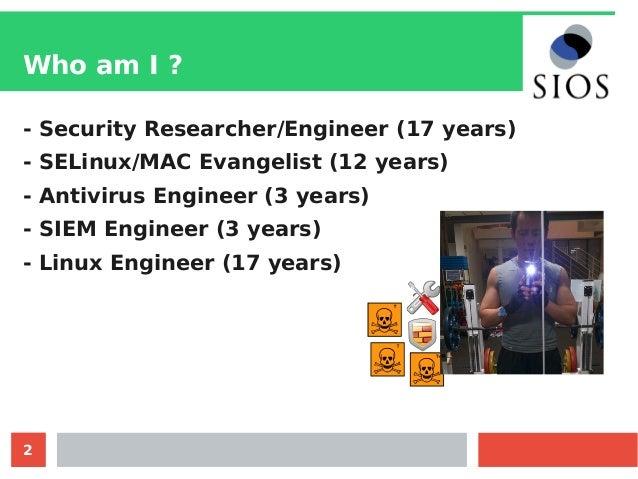 Linux Security Status on 2017 Slide 2