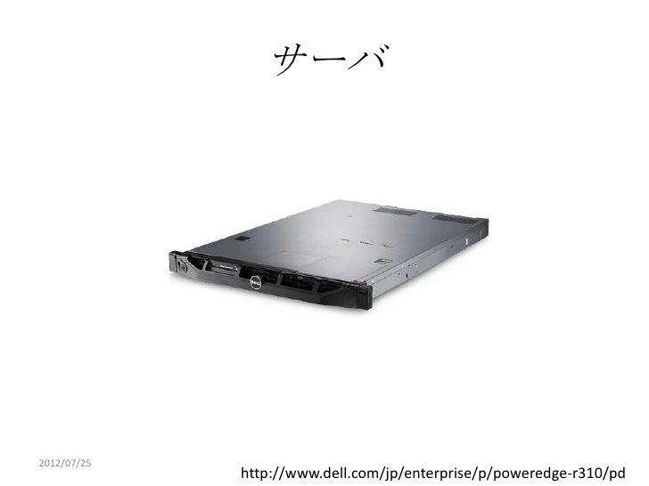 サーバ2012/07/25             http://www.dell.com/jp/enterprise/p/poweredge-r310/pd