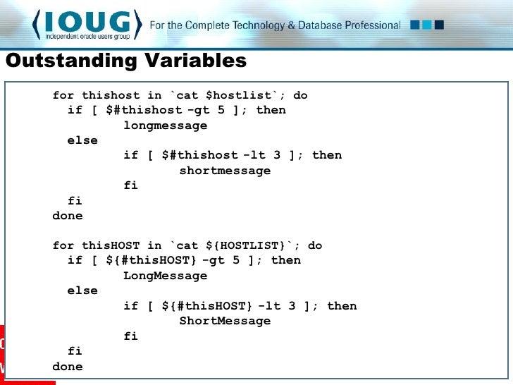 Linux Shell Scripting Craftsmanship
