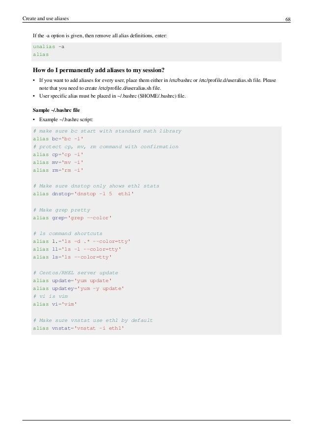 Linux shell scripting tutorial v2 0