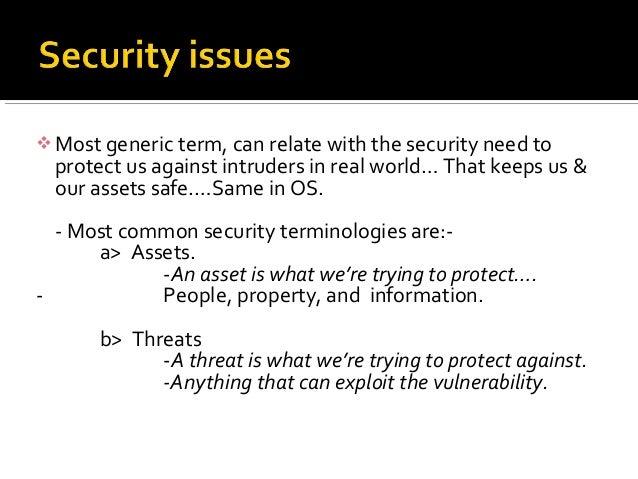 Threats, Vulnerabilities & Security measures in Linux