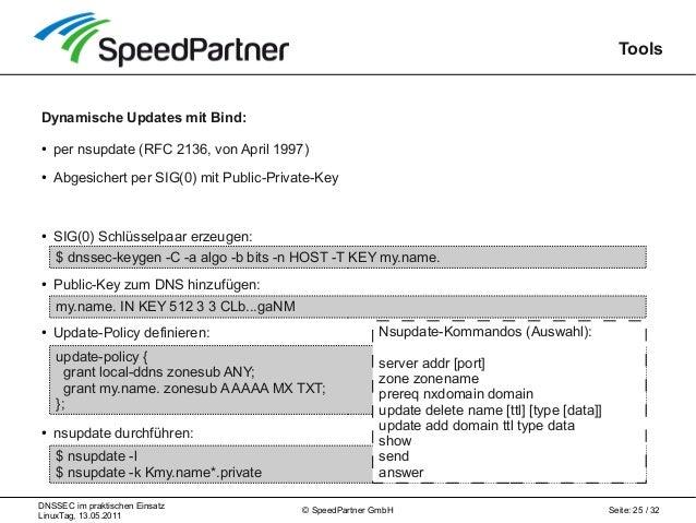 Sicherer Wegweiser im Internet: DNSSEC im praktischen Einsatz