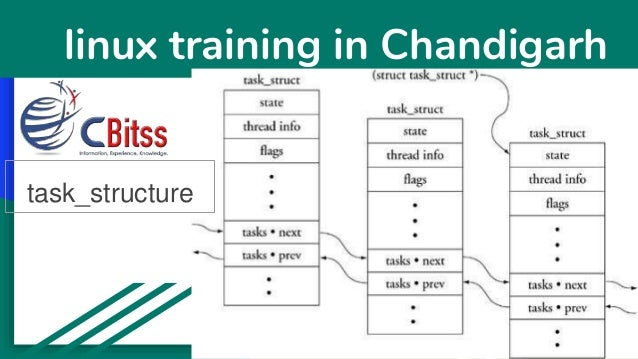 linux training in Chandigarh task_structure
