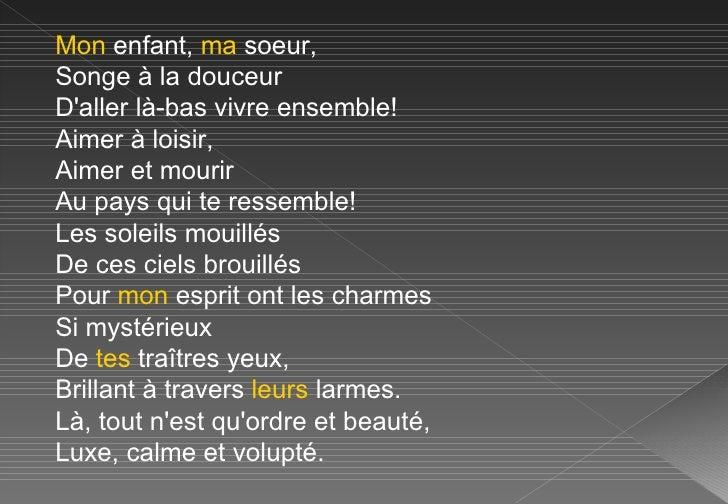 Baudelaire Linvitation Au Voyage