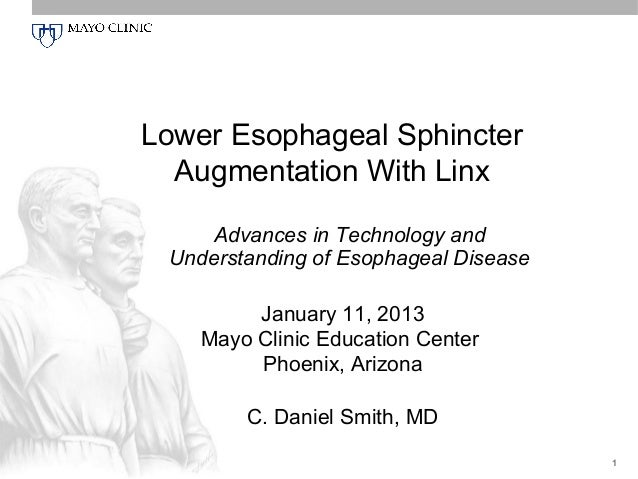 Lower Esophageal Sphincter  Augmentation With Linx    Advances in Technology and Understanding of Esophageal Disease      ...