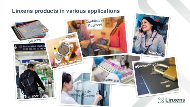 Linxens products in various applications
