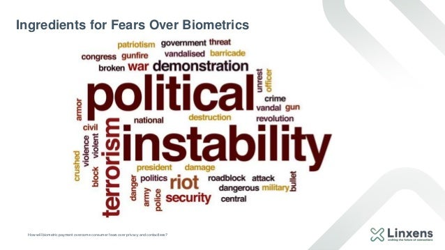 How will biometric payment overcome consumer fears over privacy and contactless? Ingredients for Fears Over Biometrics CIR