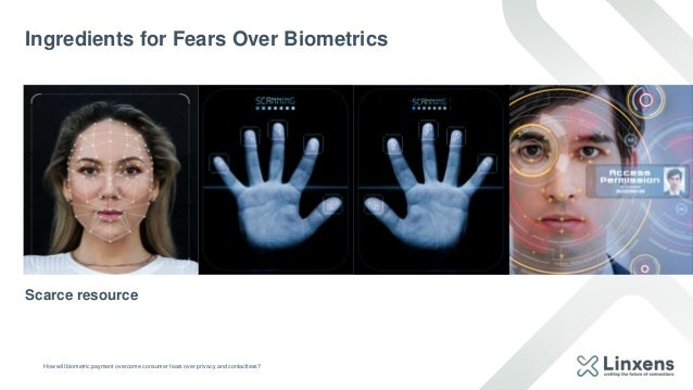 How will biometric payment overcome consumer fears over privacy and contactless? Ingredients for Fears Over Biometrics CIR...