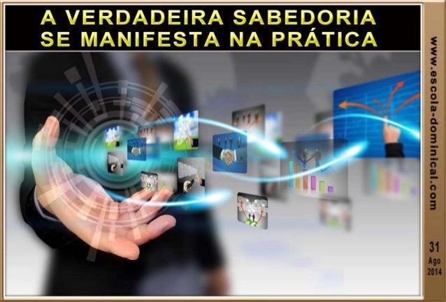 ACESSE O NOSSO SITE www.escola-dominical.com Produção dos slides Ev. Ismael Pereira de Oliveira
